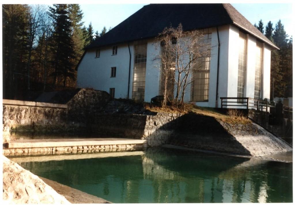 Kraftwerk Niedernach am Walchensee