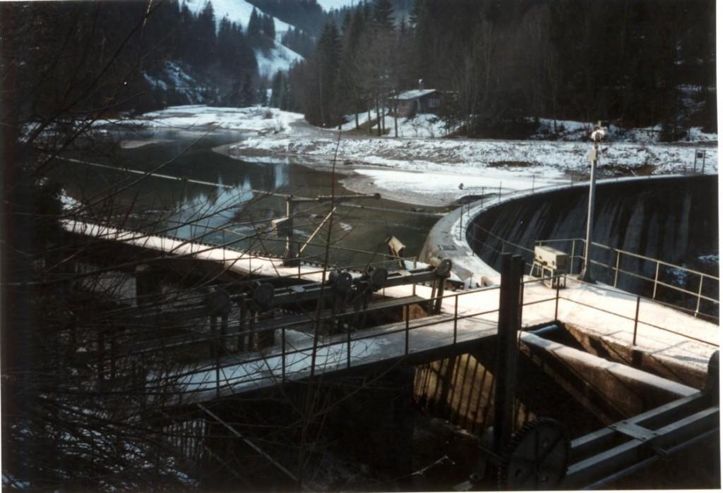 Ableitung der Dürrach zum Achensee