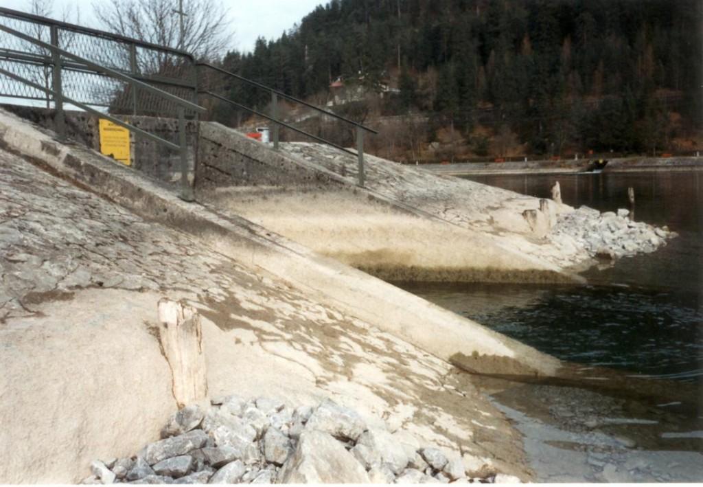 Einleitungsbauwerk in den Achensee (Dürrach)