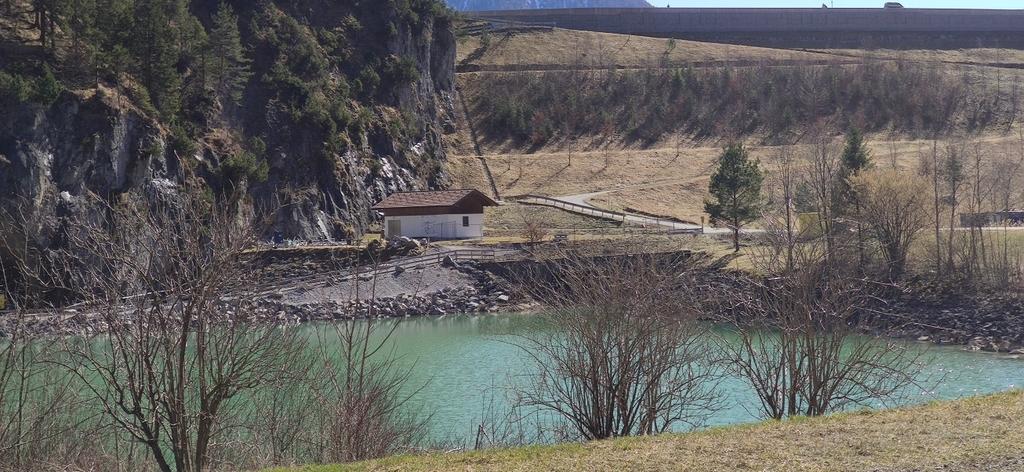 Pegelmessstelle Sylvensteinsee Abfluss (1)
