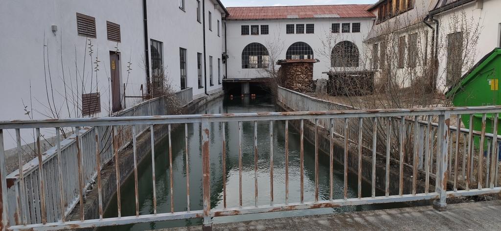 Werkkanal zum Wasserkraftwerk in Fleck (1)