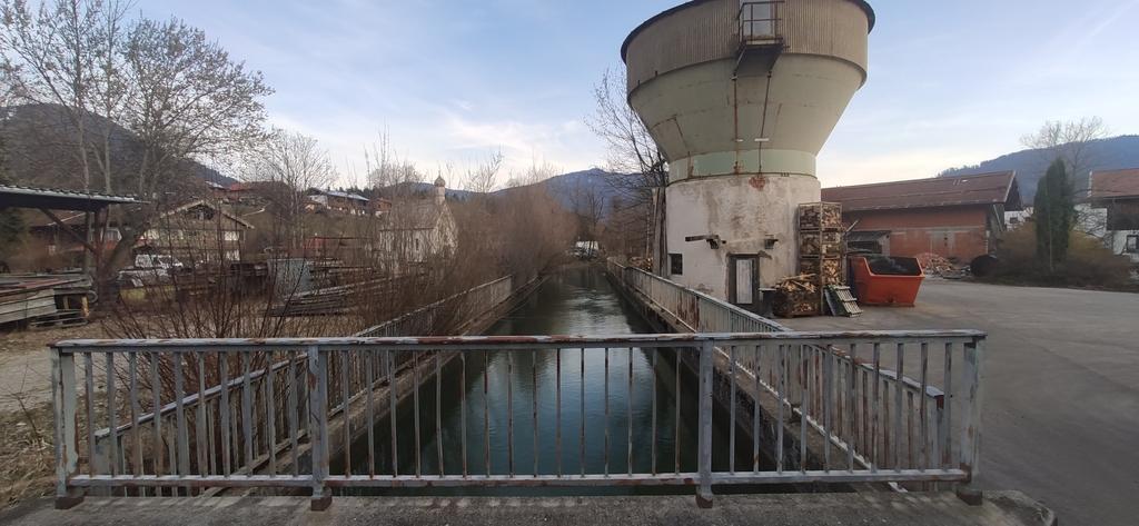 Werkkanal zum Wasserkraftwerk in Fleck (2)