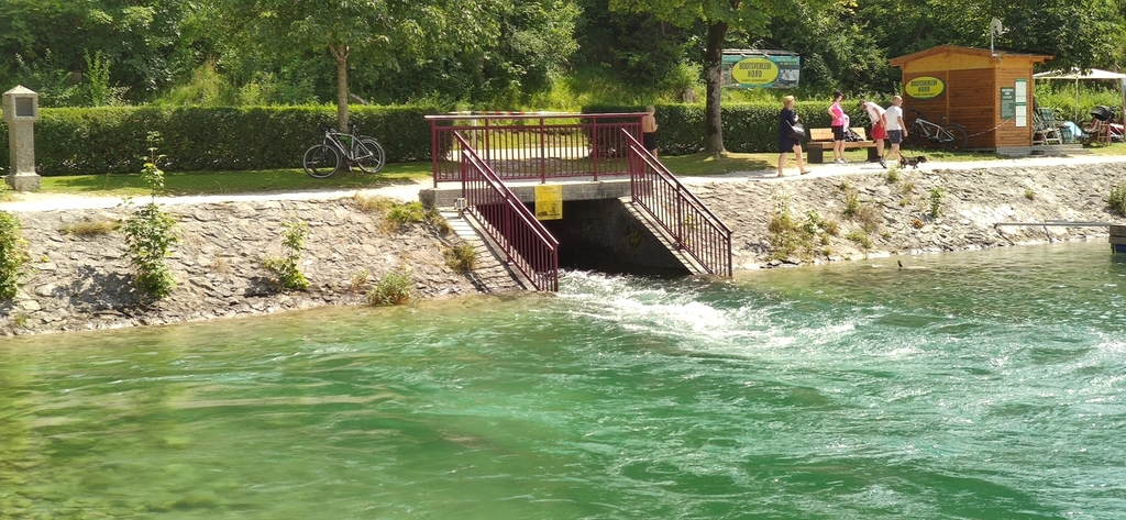 Einleitungsbauwerk Ampelsbachkanal