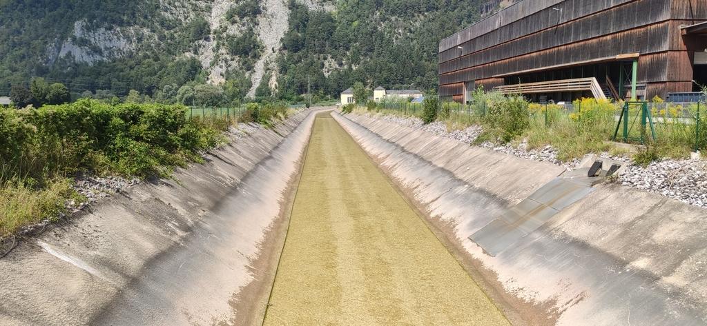 Ableitungskanal vom Achenseekraftwerk zum Inn