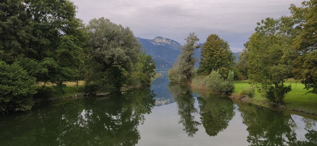 Loisach-Isar-Kanal (künstliche Entwässerung des Kochelsees)